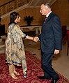Baroness Warsi meets Professor Ekmeleddin İhsanoğlu (4726668143).jpg