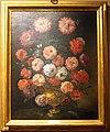 Bartolomeo bimbi, mazzo di rosolacci e papaveri da oppio in vaso di metallo, 1717.jpg