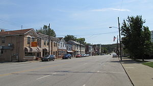 Batavia, Ohio - Looking east along Main Street
