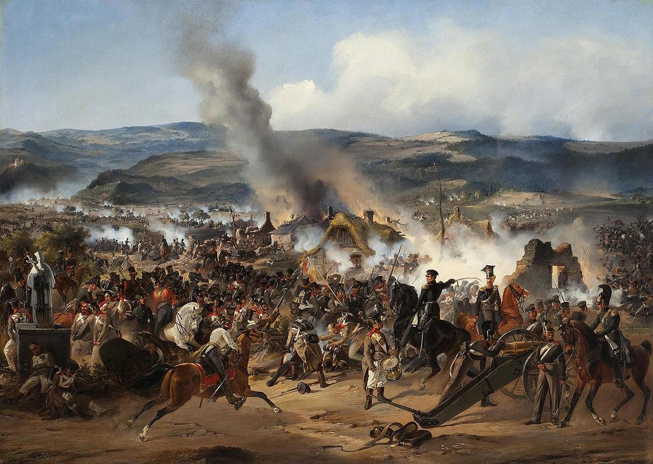 Сражение при Кульме 17—18 августа 1813 года. А. Коцебу, Государственный Эрмитаж