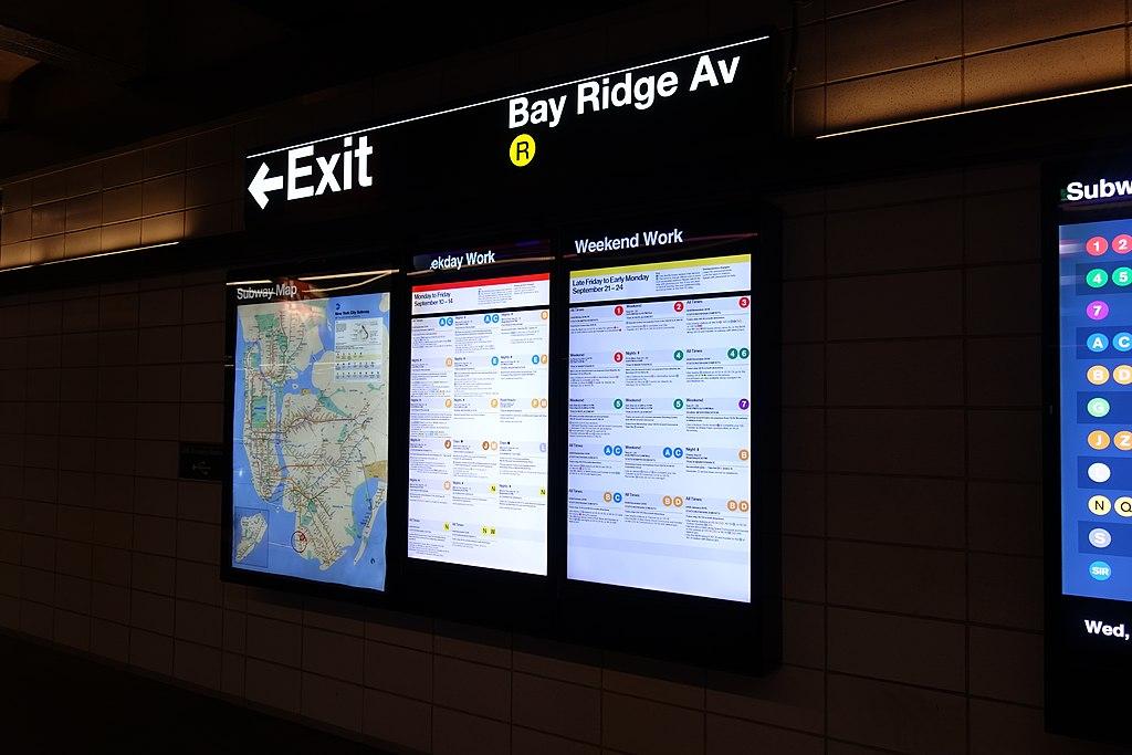 Subway Map Bay Ridge Area.File Bay Ridge Av Bmt Td 2018 09 19 14 Jpg Wikimedia Commons