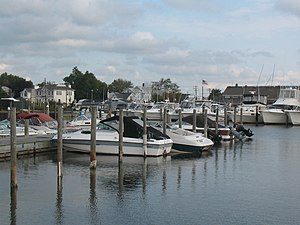 Bay Shore, New York - Bay Shore Marina