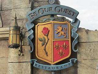 Beauty and the Beast-themed restaurant in Magic Kingdom