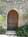 Beaumont-du-Périgord Bannes église porte.jpg