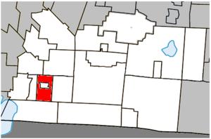 Bedford, Quebec (township) - Image: Bedford (township) Quebec location diagram