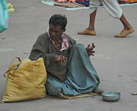Beggar with Leprosy