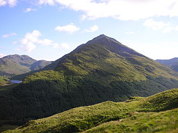 none  Beinn an Lochain, seen whilst on the ascent of Stob Coire Creagach