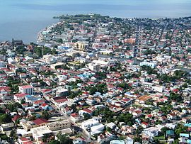 Luftbild Belize City