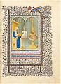 Belle Heures du duc de Berry - f15r - Sainte Catherine dans son studio.JPG