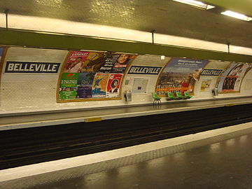 Belleville (Paris Métro)