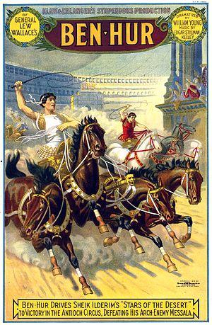 Ben-Hur (play) - 1899 poster from the Broadway premiere