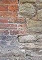 Bench mark in Silk Mill Lane - geograph.org.uk - 2535189.jpg