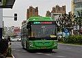 Bengbu Bus No.116 with Futian hybrid power bus.jpg