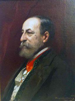 Benjamin Constant - Portrait de Camille Saint-Saens
