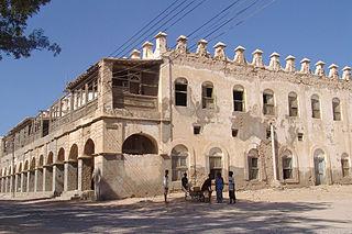 Berbera City in Sahil, Somaliland