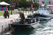 Bermuda Regiment & Bermuda Police Service boats in July 2011