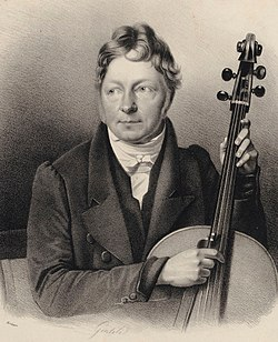 portrait of Bernhard Romberg (1815) (Source: Wikimedia)