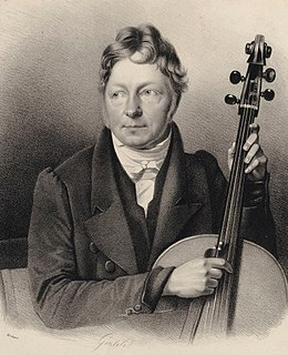 Bernhard Romberg cellist and musical composer