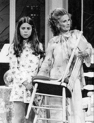 Lisa Gerritsen - Gerritsen as Bess with Phyllis Lindstrom (Cloris Leachman), 1974