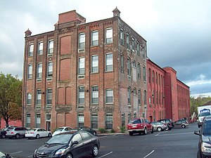 National Register of Historic Places listings in Northampton County, Pennsylvania - Image: Bethlehem Silk Mill Oct 11