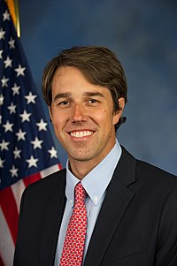 Beto O'Rourke Beto O'Rourke, Official portrait, 113th Congress.jpg