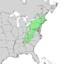 Betula lenta range map 1.png