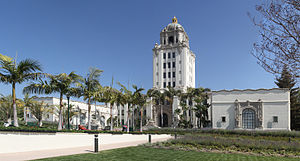 Beverly Hills Cop - The Beverly Hills City Hall featured prominently in the Beverly Hills Cop films as the police headquarters.