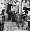 Bewoners van de Amsterdamse Jordaan versieren hun huizen ter gelegenheid van , Bestanddeelnr 900-4530.jpg