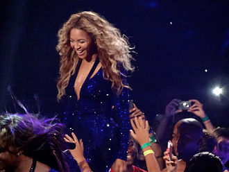 """Love On Top - Beyoncé performing """"Love On Top"""" during The Mrs. Carter Show World Tour in 2013."""