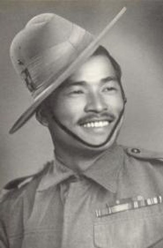 Slouch hat - Bhanbhagta Gurung VC of the 3rd battalion, 2nd Gurkha Rifles.