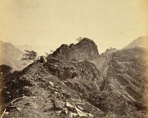 Bhor Ghat - Image: Bhor Ghat (1870)