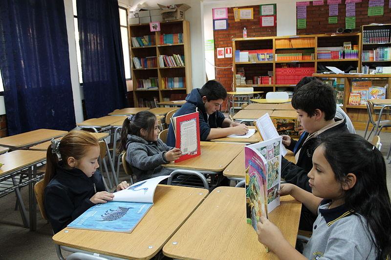 Archivo:Biblioteca escolar..JPG