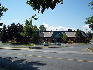 L'Île-Bizard–Sainte-Geneviève - Île-Bizard library