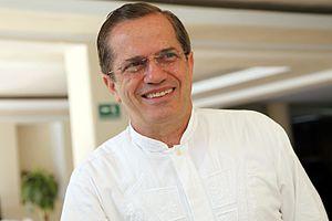 Ricardo Patiño - Image: Bici Q, entrega de credenciales (12346795144)