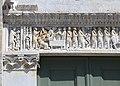 Biduino, portale centrale della pieve dei Santi Ippolito e Cassiano (San Casciano di Cascina) 1180, 05.jpg
