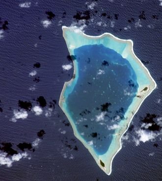 Bikar Atoll - Bikar Atoll - ISS Image, 2002