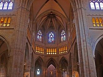 Bilbao Cathedral - Interior, choir.