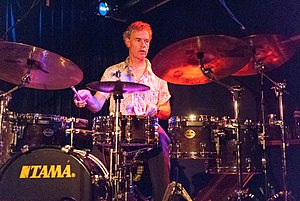 Bill Bruford - Bruford performing in 2008