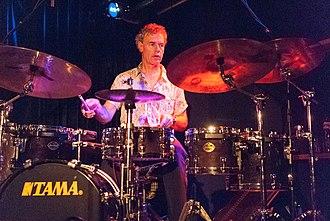 Bill Bruford - Bruford performing in 2008