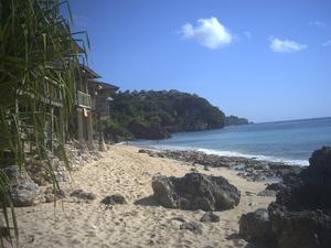 Pecatu - Bingin Beach is located south of New Kuta Beach, Pecatu, also has the cliffs