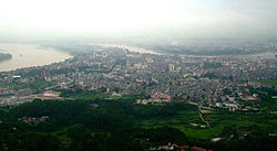 Guiping, seen from Mt. Xi