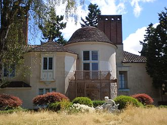 Bitar Mansion - The house in 2011