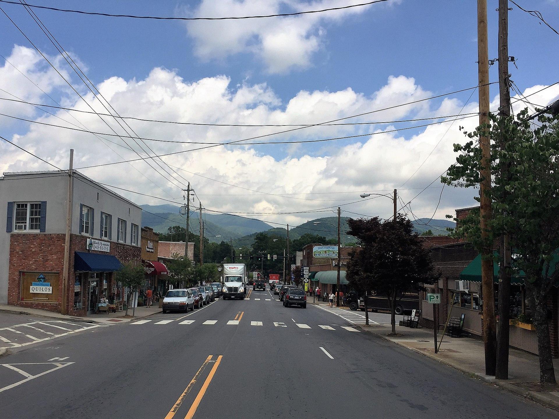 asheville town of black mountain