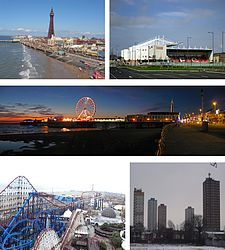 Borough di Blackpool – Veduta