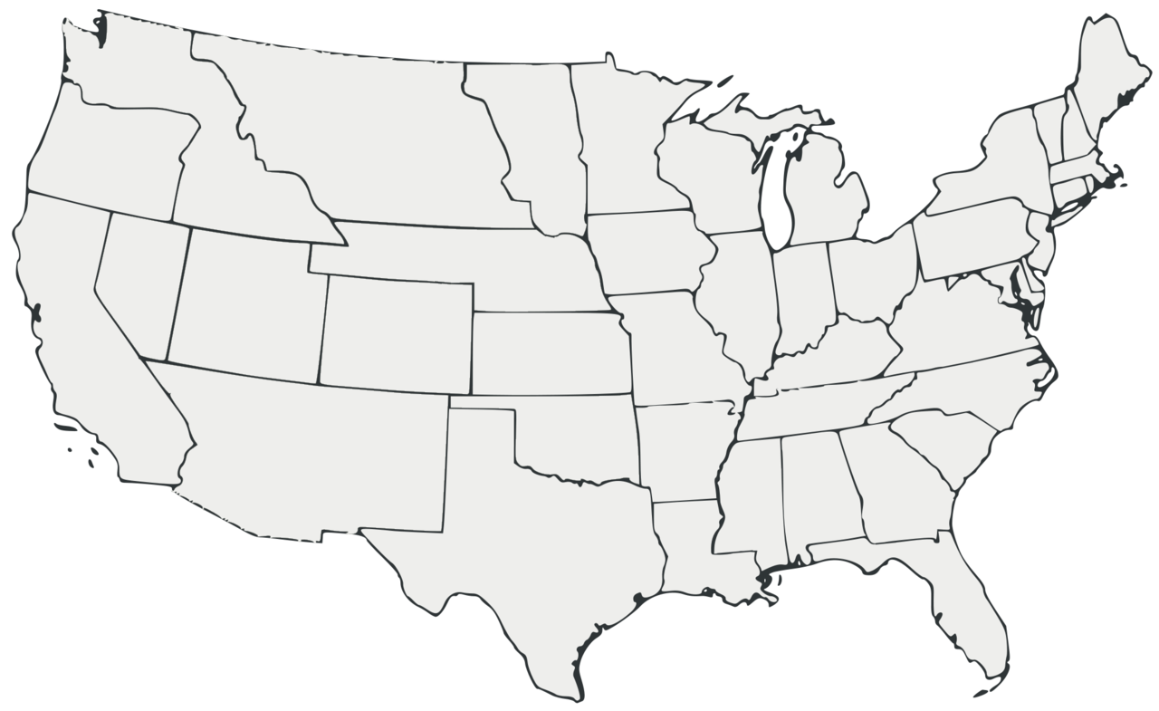 FileBlank Map Of The United States All Whitepng Wikimedia - Blank us map png