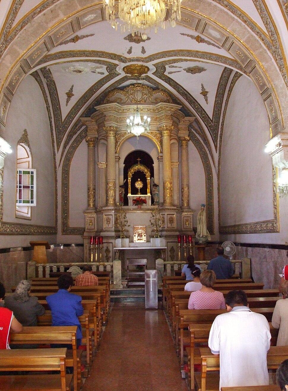 Blessed Sacrament Chapel interior