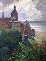 Blick über den Schlossberg auf Graudenz, Oswald Gette, 1909.jpg