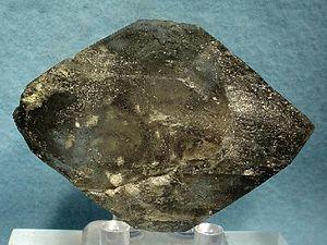 Blödite - Doubly terminated blödite crystal from Soda Lake, San Luis Obispo County, California (size: 7.0 x 4.8 x 1.9 cm)