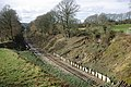 Bluebell Railway extension - landslide - geograph.org.uk - 1619231.jpg
