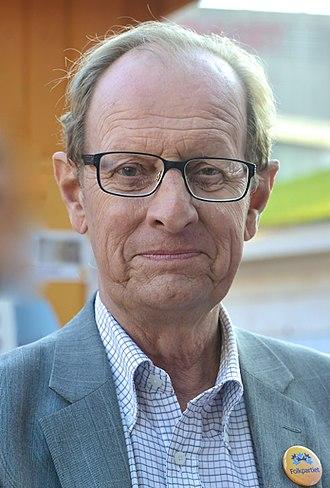 Minister for Social Security (Sweden) - Image: Bo Könberg in 2014